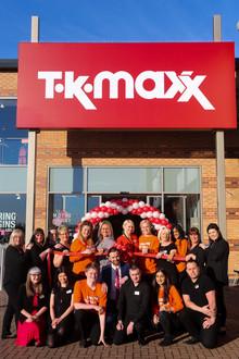 TK Maxx Hartlepool new store opening