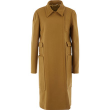 Mustard Wool Mix Coat