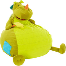Green Dinosaur Bean Bag