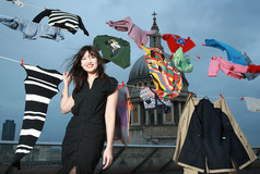 Daisy Lowe gives up clothes for good!