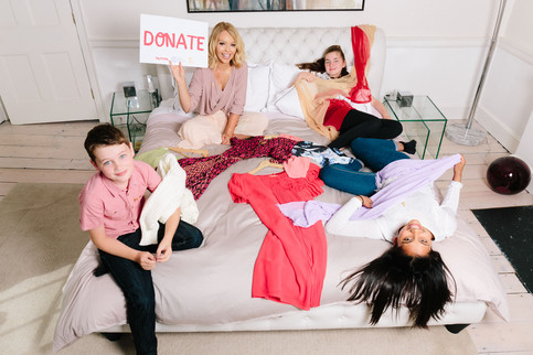 Katie Piper Nominates You To Give Up Clothes For Good