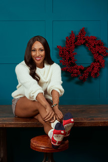 JOIN ALEXANDRA BURKE AND SHARE A #SOCKSIE ON CHRISTMAS SOCK DAY